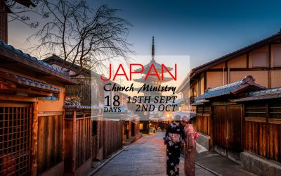 Japan Mission – 15th Sept to 2nd Oct