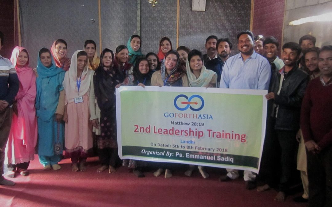 Leadership Training, Pakistan – February 2018