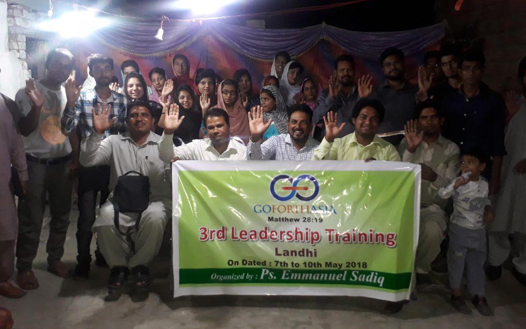 3rd GFA Leadership Training – Landhi, Pakistan