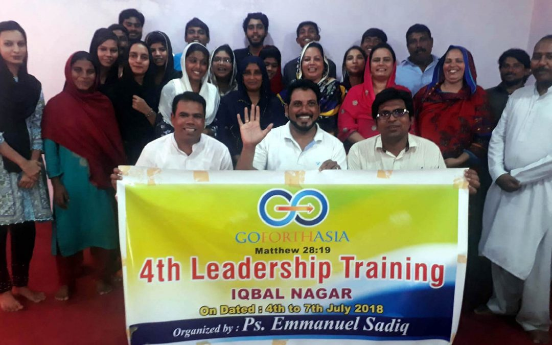 4th Go Forth Asia Leadership Training Iqbal Nagar, Pakistan