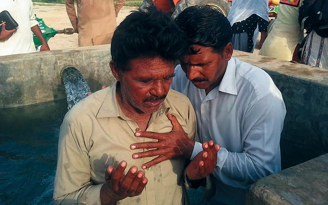 Water Baptism at AFM Church – Mian Channu, Pakistan