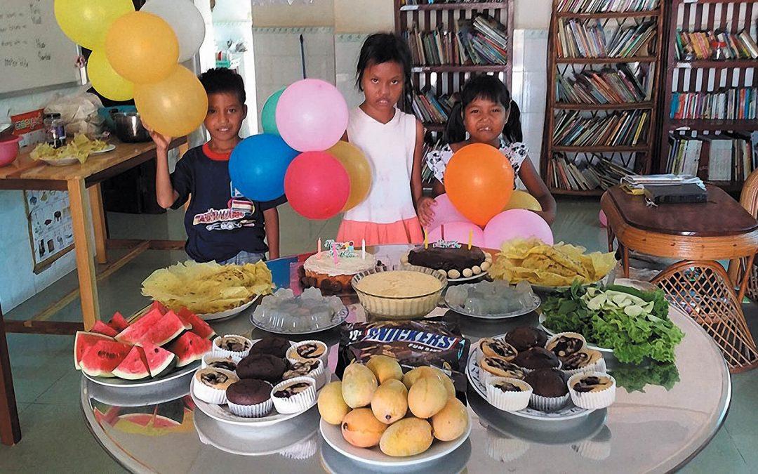 Children's Birthday Celebration – MIKI Home, Cambodia