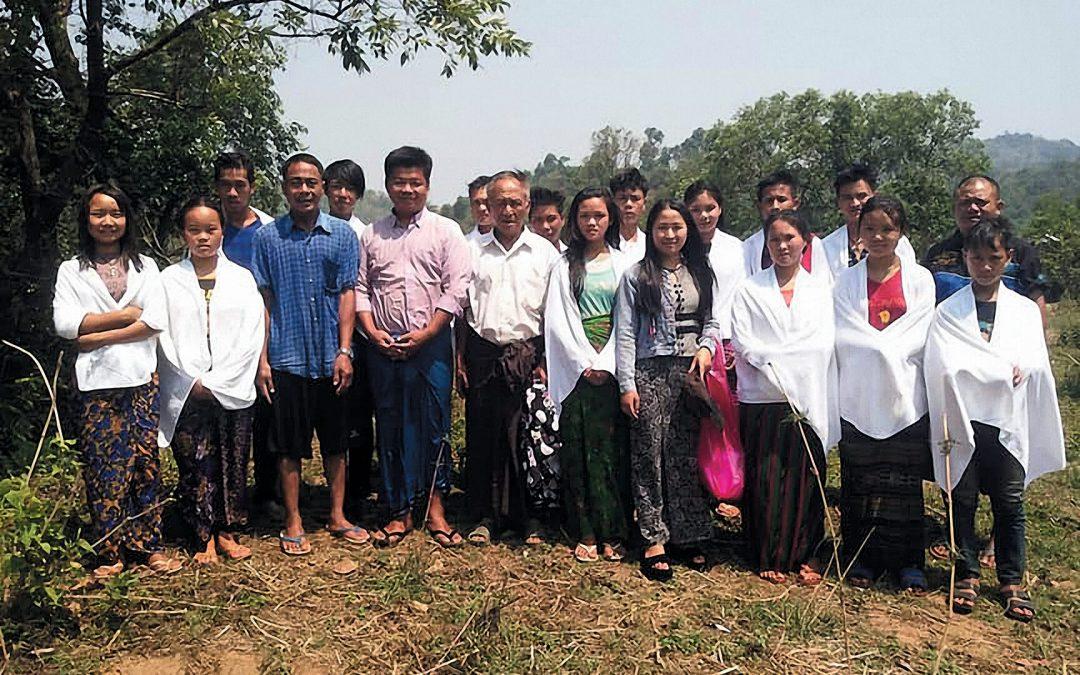 Water Baptism – Lawsanshi & New Lawsanshi Village – Tachileik, Myanmar