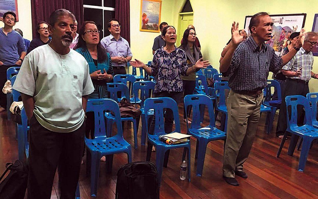 Rev Takashi and Ps Bala – Miri, Sarawak – Malaysia