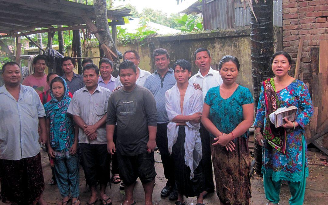 Water Baptism – Country Side, Bangladesh