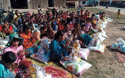 Humanitarian Aid – Phnom Krom, Cambodia