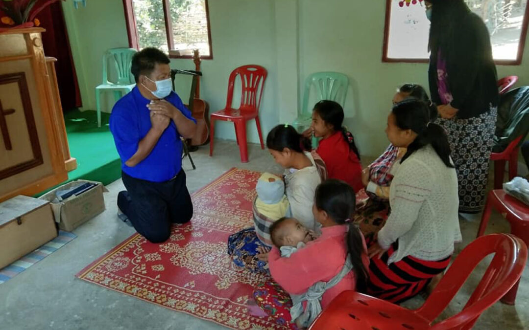 GFA Worship & Sharing by Pastor Morris- Hpakant, Myanmar